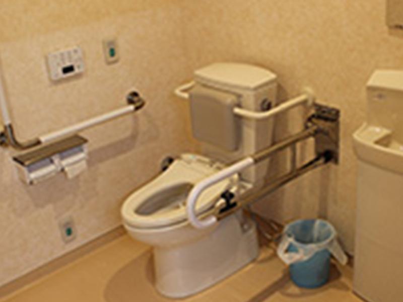 画像:使い勝手の良いトイレ