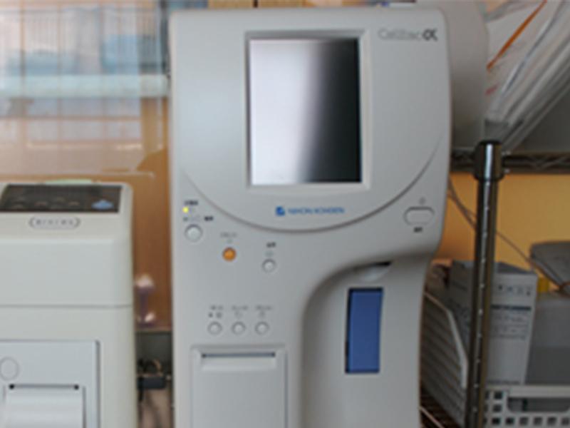 画像:全自動血球計数器