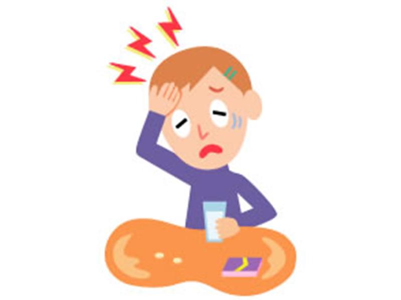 画像:高血圧症の症状